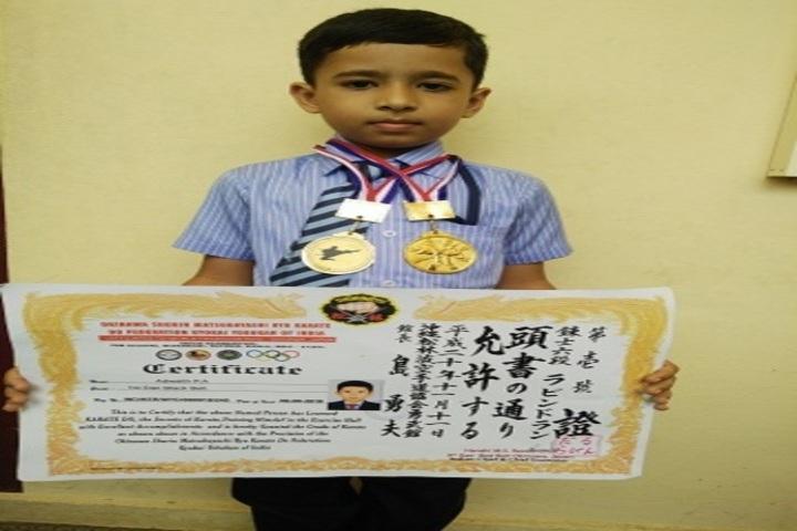 Anns English Medium School-Prizes