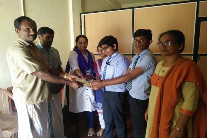 Anns English Medium School-Prizes Distribution