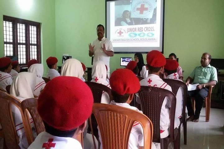 Ansar English School-Red Crossm Speeches