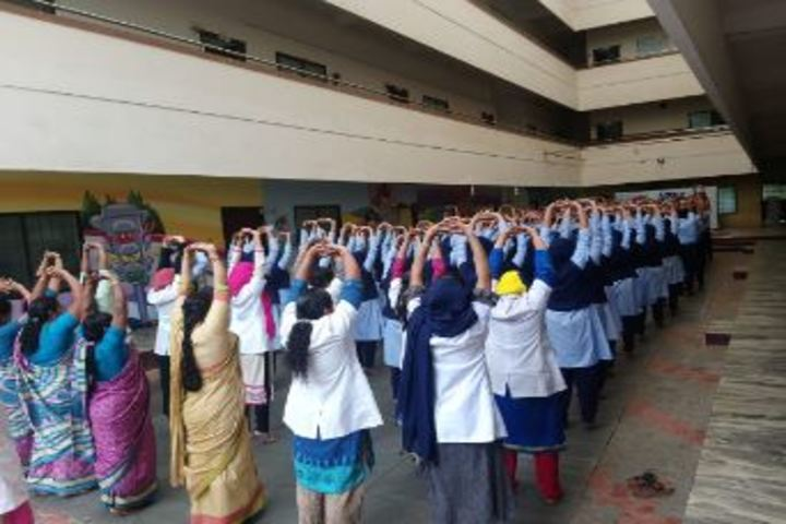Apex International School-Yoga Day