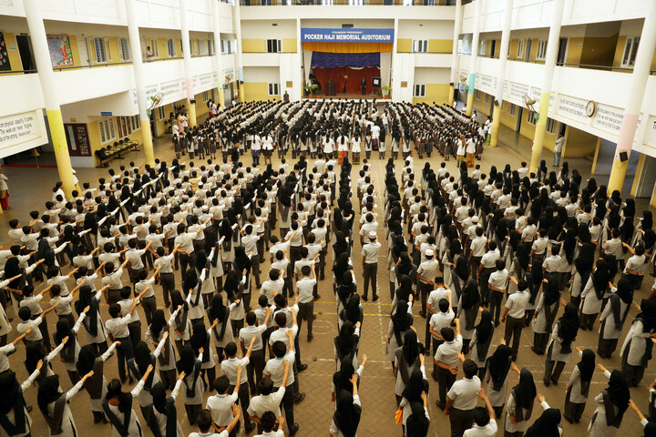 Apsara Public School-Assembly