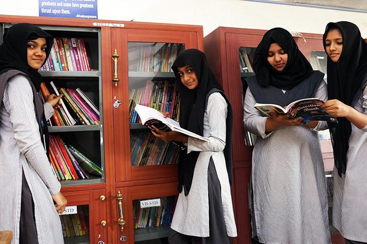 Apsara Public School-Library