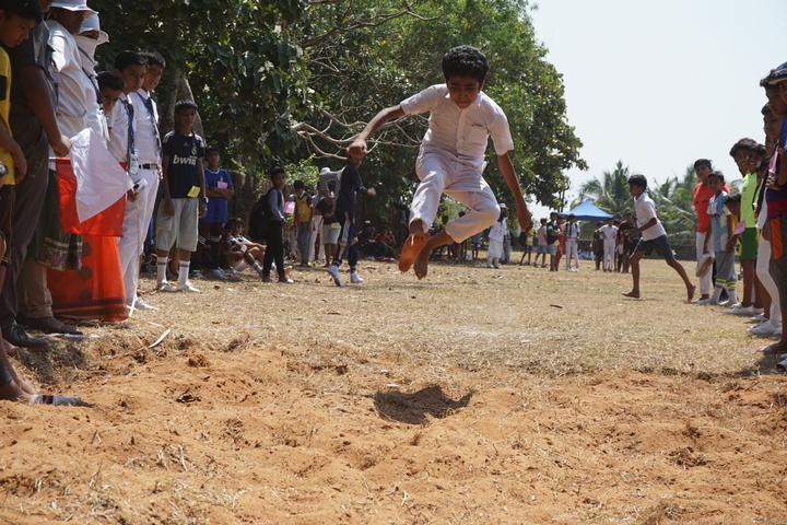 Apsara Public School-Long Jump