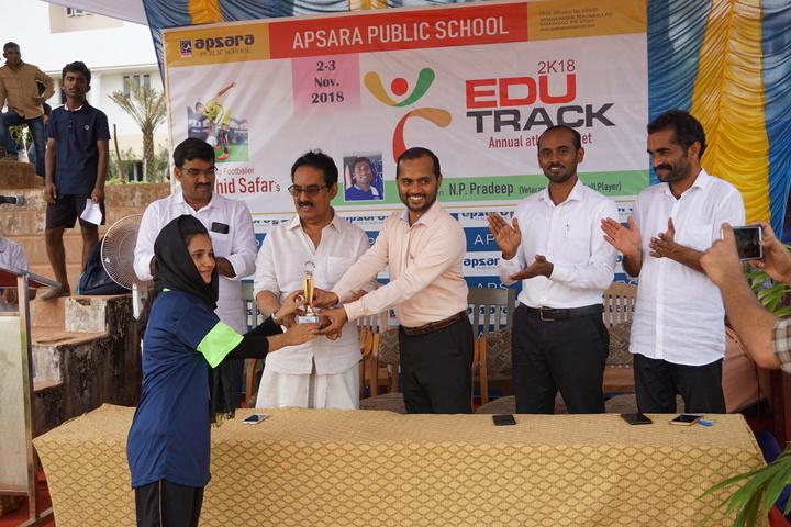 Apsara Public School-Prizes Distribution