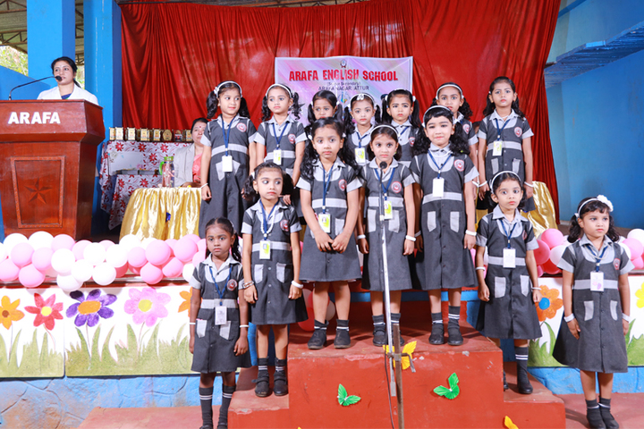 Arafa English School-KG Convocation