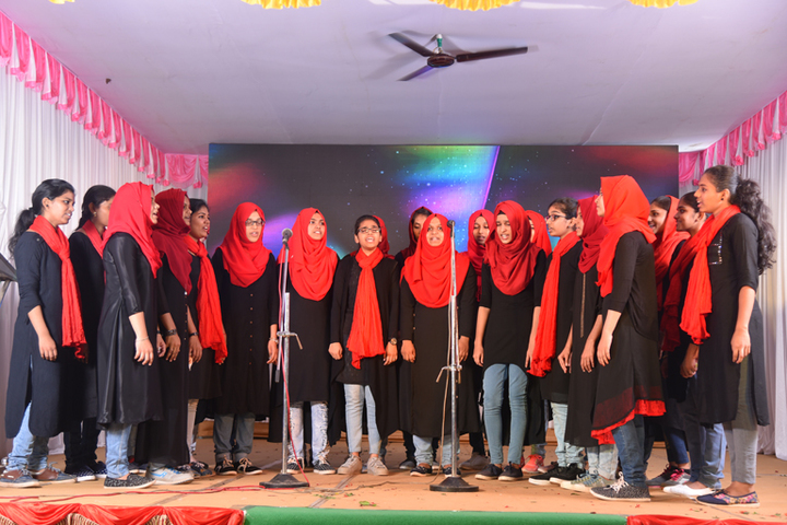 Arafa English School-Singing
