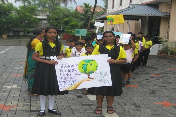 Archbishop Attipetty Public School-Environmental Day