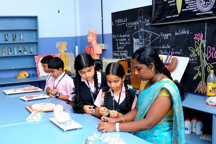 Archbishop Attipetty Public School-Laboratory