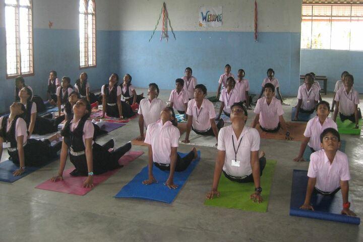 Archbishop Attipetty Public School-Yoga