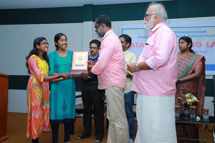 Arvinda Vidyamandiram-Award Presentation