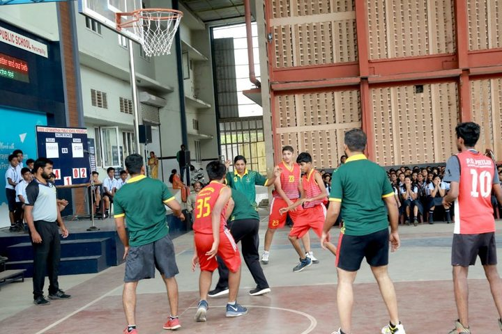 Assisi Vidyaniketan Public School-Basket Ball
