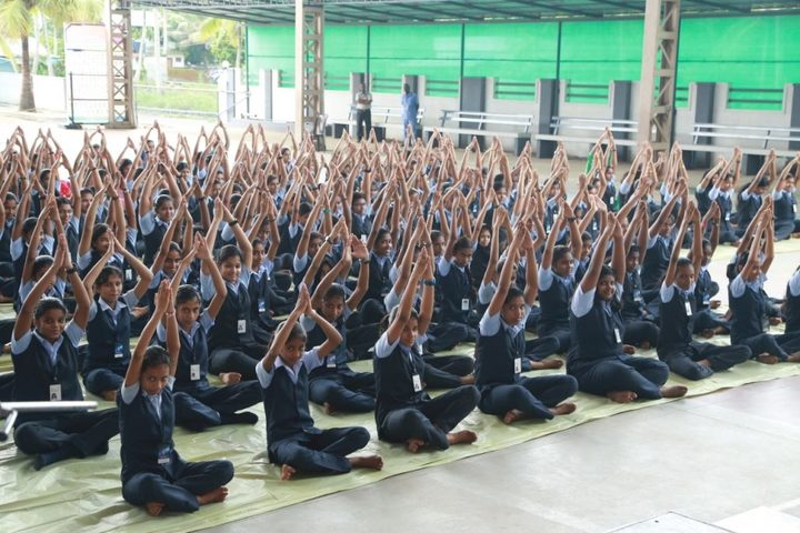 Assisi Vidyaniketan Public School-Yoga