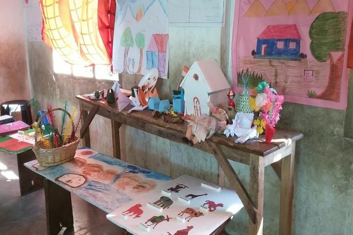 Azad Central School-Art Gallery