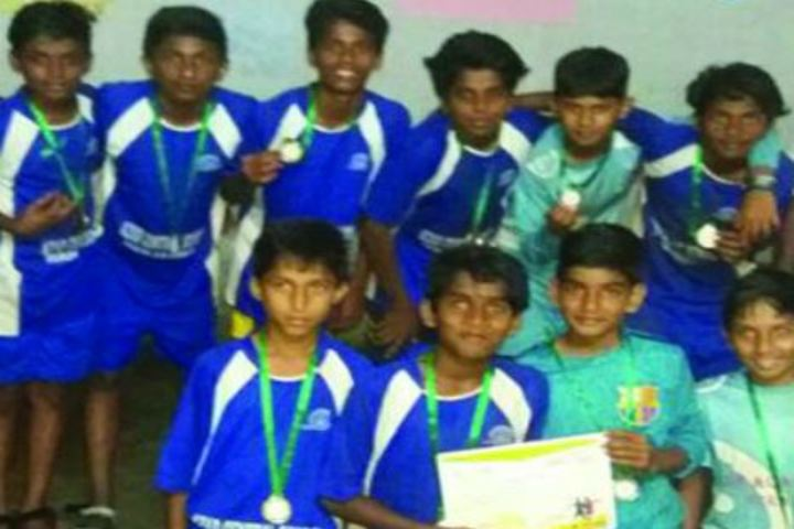 Azad Central School-FootBall Team Winners