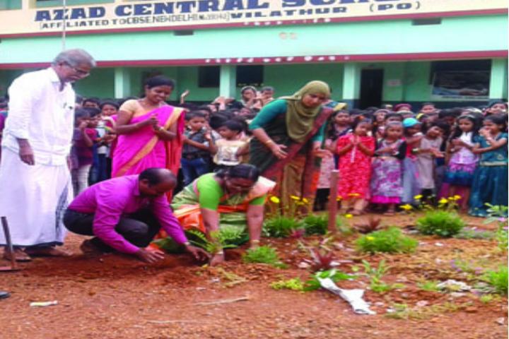 Azad Central School-Plantation