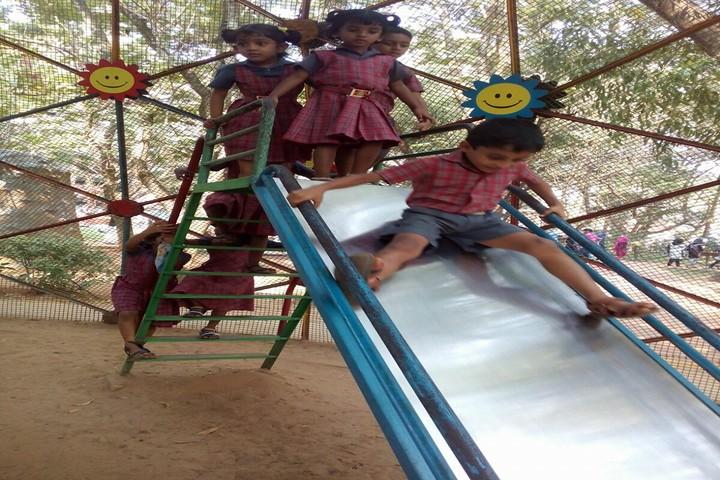 Azad Central School-Play Area