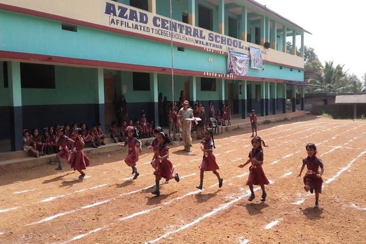 Azad Central School-Running Race