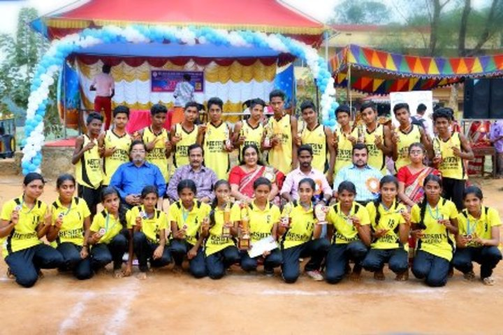 B E S Bharathi Thirtha Vidyalayam English Medium Higher Secondary School-Sports Team Winners
