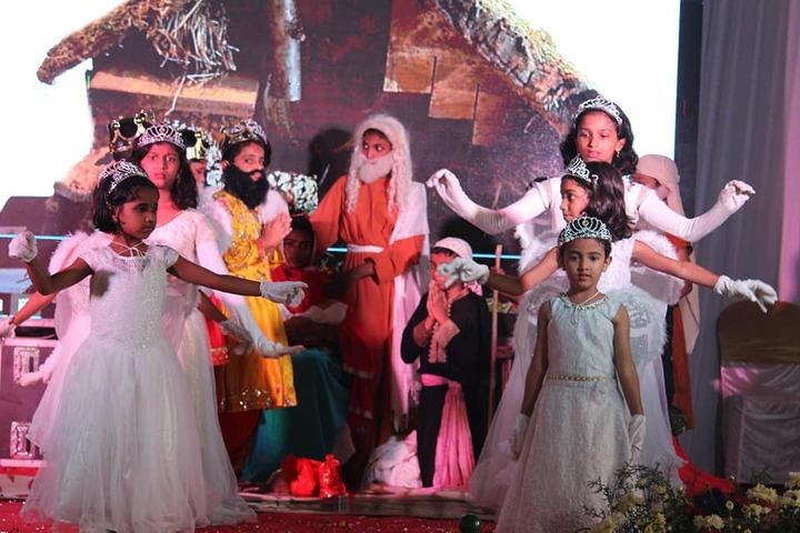 B M M English Medium School-Christmas Celebrations