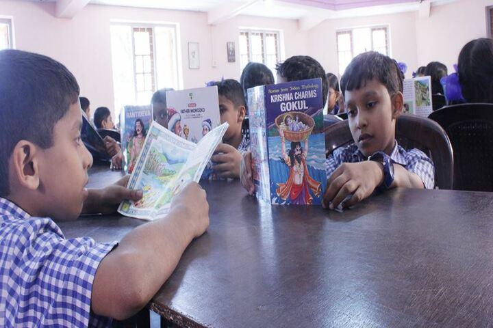 B M M English Medium School-Library