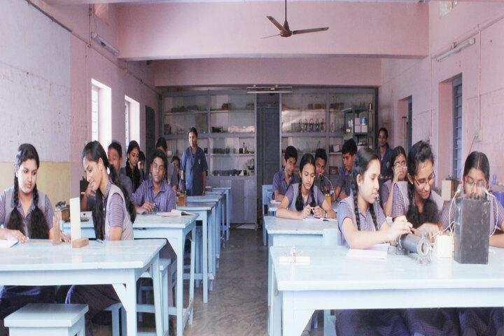 B M M English Medium School-Physics Lab