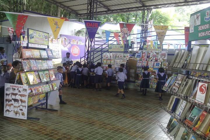 B M Memorial Central School-Book Fair