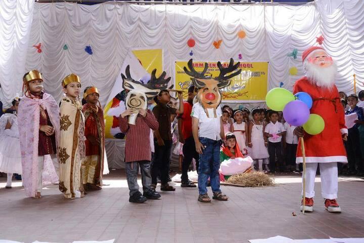 B M Memorial Central School-Christmas Celebrations
