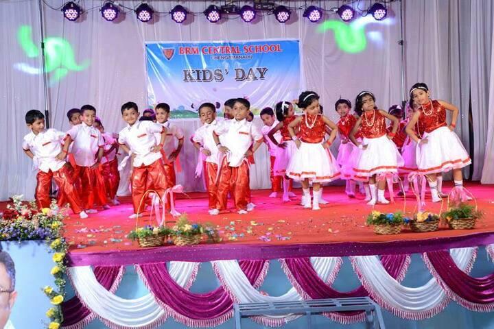 B M Memorial Central School-Dances