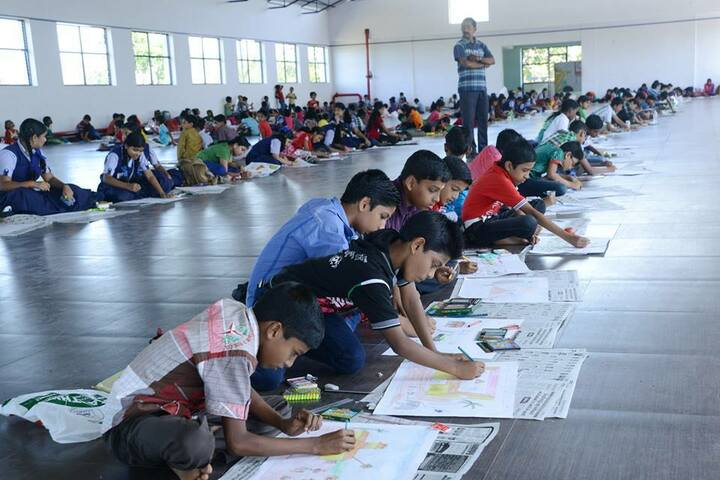 B M Memorial Central School-Drawing Competition