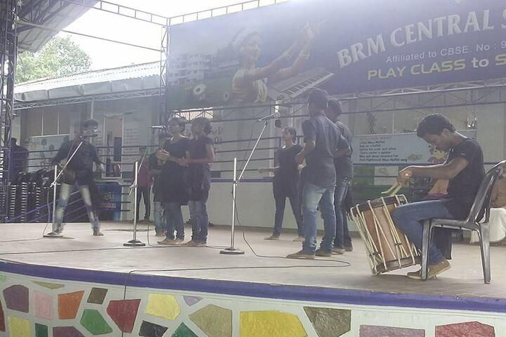 B M Memorial Central School-Music