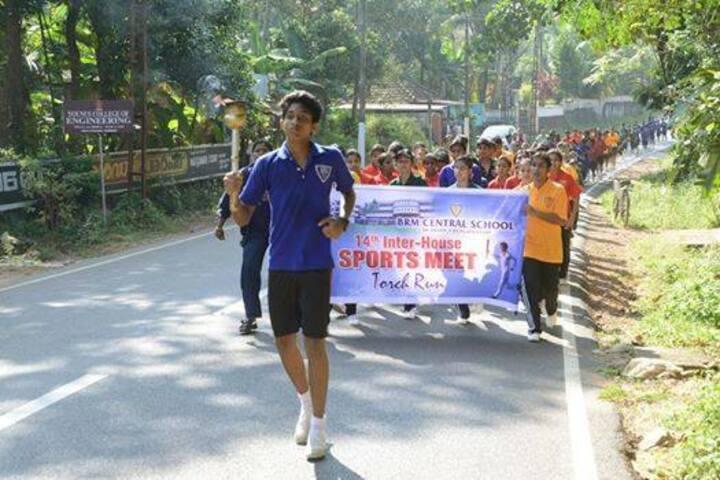 B M Memorial Central School-Sports Meet