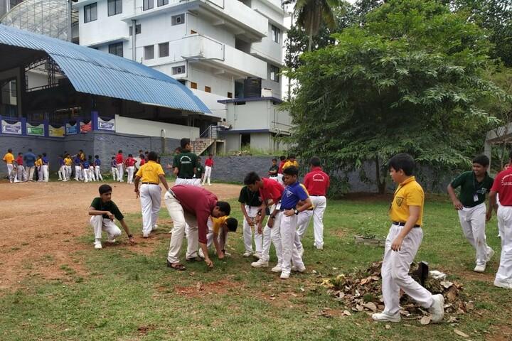 B M Memorial Central School-Swatch Bharath