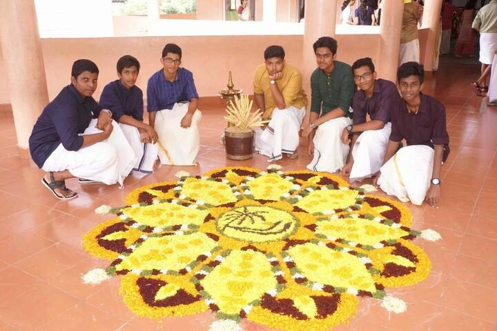 The Baker Vidyapeedh-Rangoli