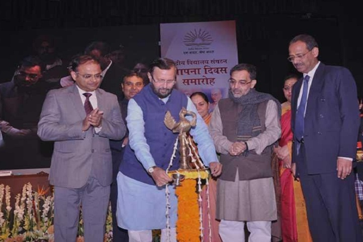 Kendriya Vidyalaya-Lighting the lamp