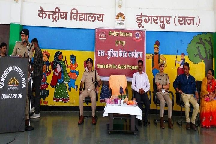 Kendriya Vidyalaya-Student police cadet Program