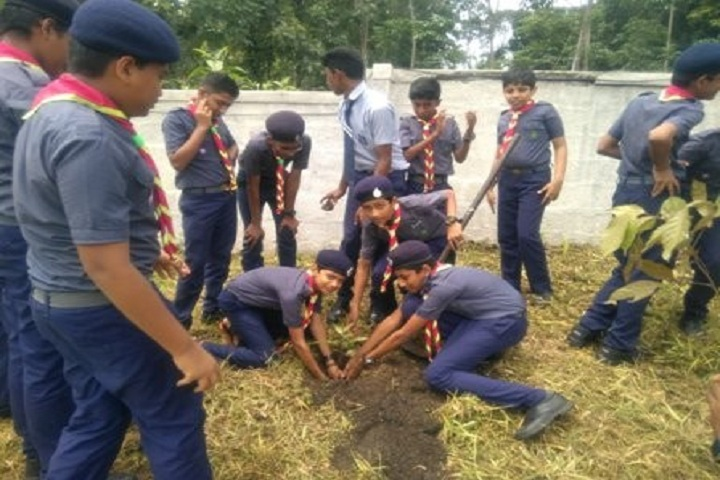 Bappuji Central School-Plantation