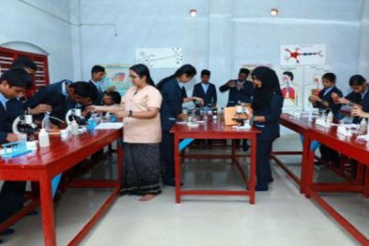 Bappuji English Medium School-Biology Lab