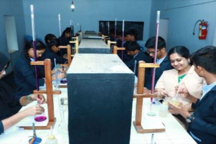 Bappuji English Medium School-Chemistry Lab