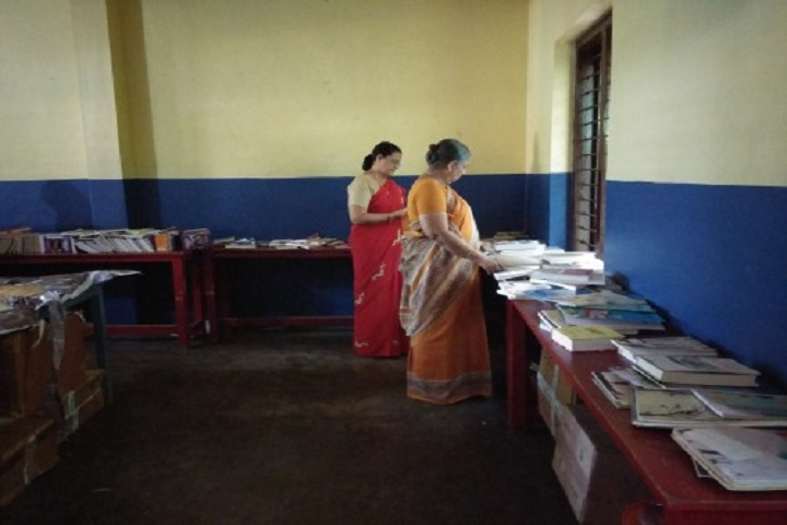 Bappuji English Medium School-Library