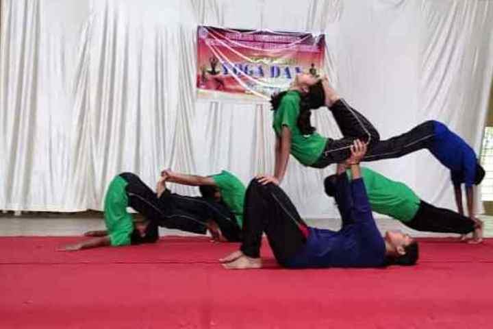 Baselios Vidyanikethan-Yoga Day