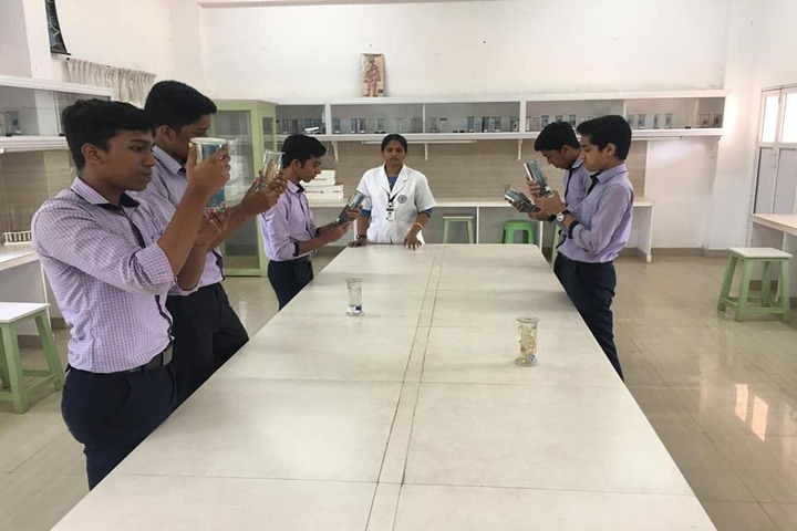 Bee Line Public School-Biology Lab