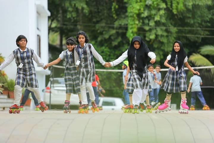 Benchmark International School-Skating