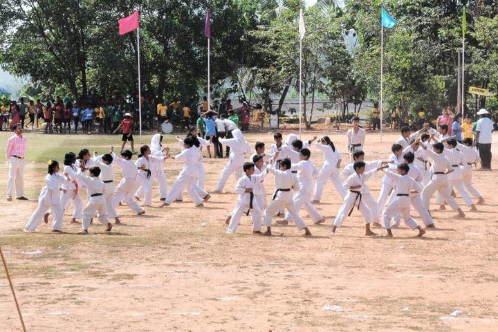 Benhill English School-Karate