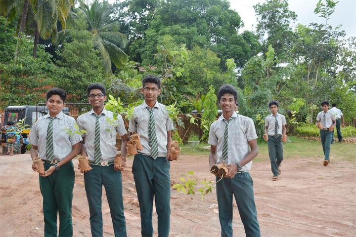 Benhill English School-World Environment Day
