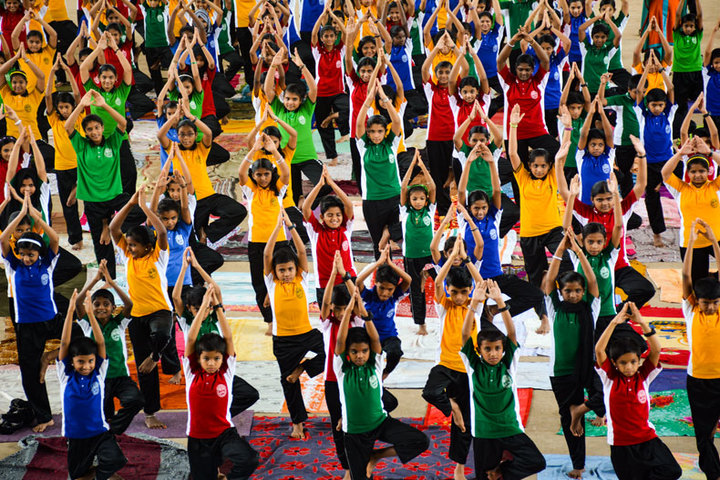 Benhill English School-Yoga Day