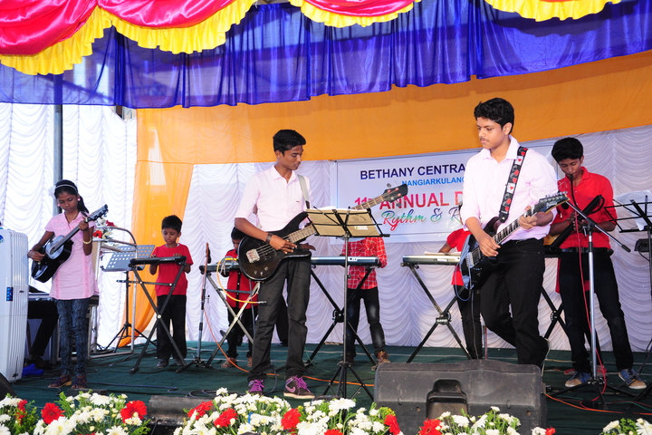 Bethany Central Senior Secondary School-Music band