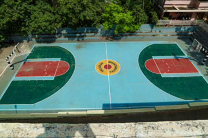 Bharathamatha Cmi Public School-Basket Ball Court
