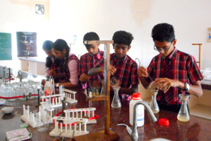 Bharathamatha Cmi Public School-Chemistry Lab