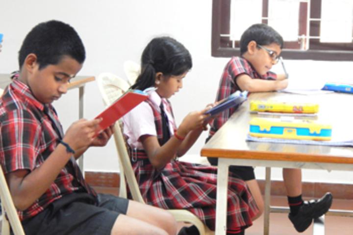 Bharathamatha Cmi Public School-Library