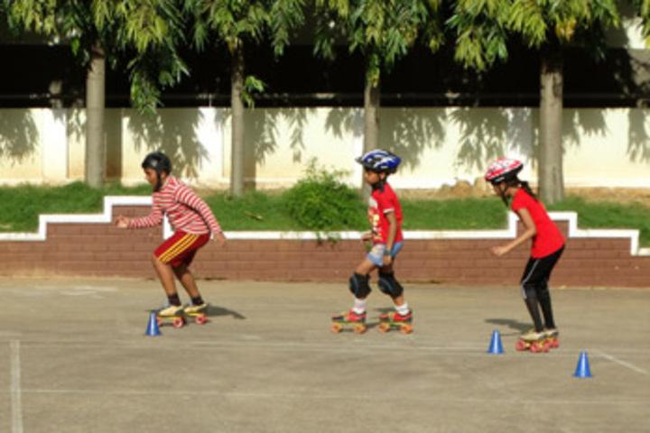 Bharathamatha Cmi Public School-Skating